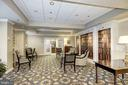 Lobby of the building for chatting with neighbors - 19365 CYPRESS RIDGE TER #418, LEESBURG