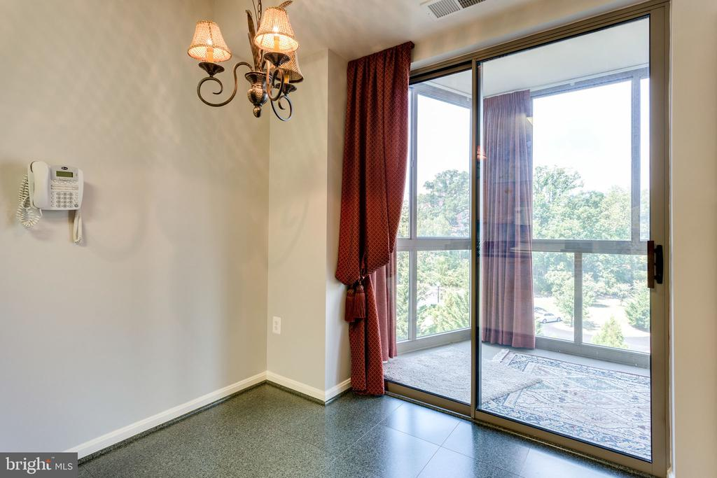 Access to sunroom from kitchen - 19365 CYPRESS RIDGE TER #418, LEESBURG