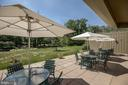 Dine outdoors at the club house - 19365 CYPRESS RIDGE TER #418, LEESBURG