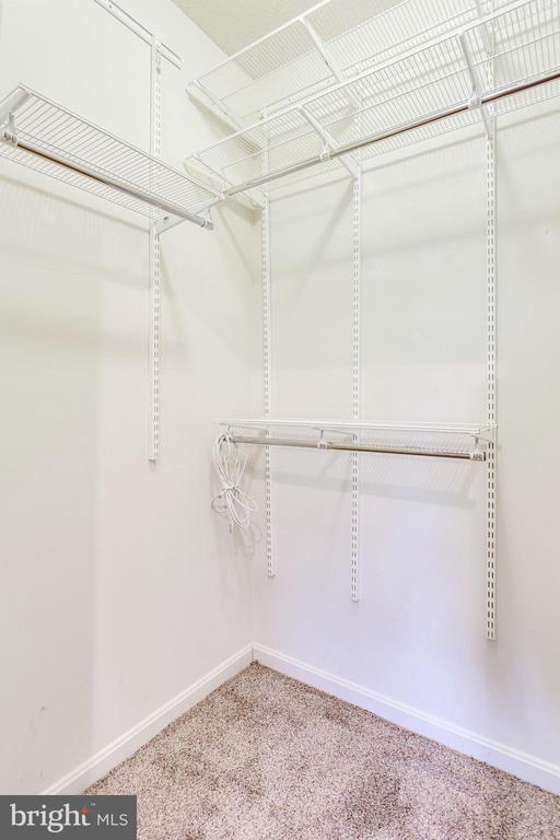 Walk-in closet #2 - 19365 CYPRESS RIDGE TER #418, LEESBURG