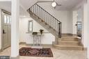 Beautifully restored grand staircase - 3601 VAN NESS ST NW, WASHINGTON