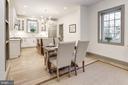 Open plan kitchen/great room - 3601 VAN NESS ST NW, WASHINGTON