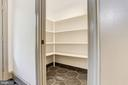 Over-sized walk-in pantry - 3601 VAN NESS ST NW, WASHINGTON