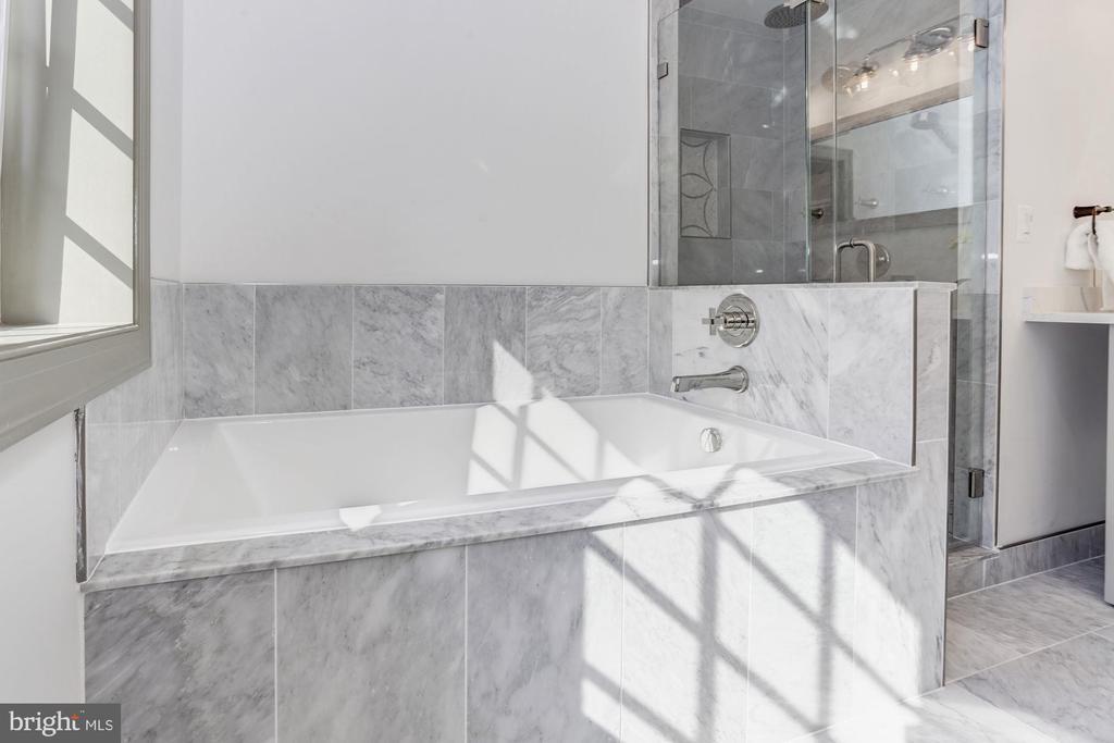 Extra-large soaking tub - 3601 VAN NESS ST NW, WASHINGTON