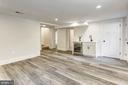 Basement family room w/ wet bar - 3601 VAN NESS ST NW, WASHINGTON