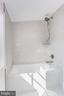 Top floor full bath with soaking tub - 3601 VAN NESS ST NW, WASHINGTON