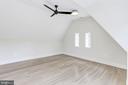 Top floor fourth bedroom - 3601 VAN NESS ST NW, WASHINGTON
