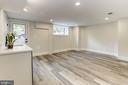Basement family room - 3601 VAN NESS ST NW, WASHINGTON