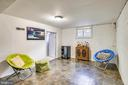 Rec Room is perfect for hanging out! - 2142 S OXFORD ST, ARLINGTON