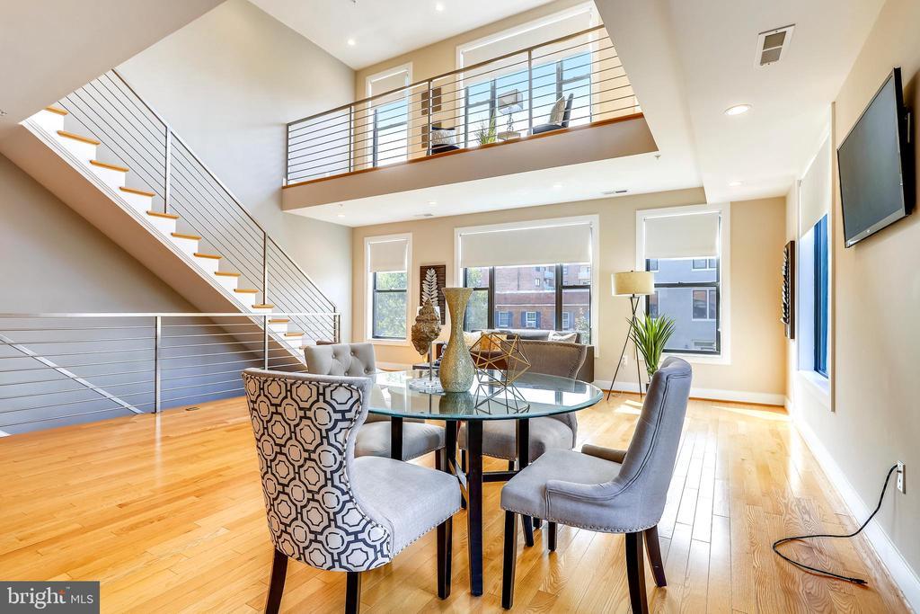 Arrange the space to suit your style. - 1400 K ST SE #2, WASHINGTON
