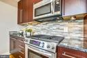 Stainless steel and granite. - 1400 K ST SE #2, WASHINGTON
