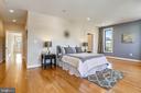 The master bedroom is huge! - 1400 K ST SE #2, WASHINGTON
