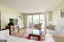 Living room - 2939 VAN NESS ST NW #1248, WASHINGTON
