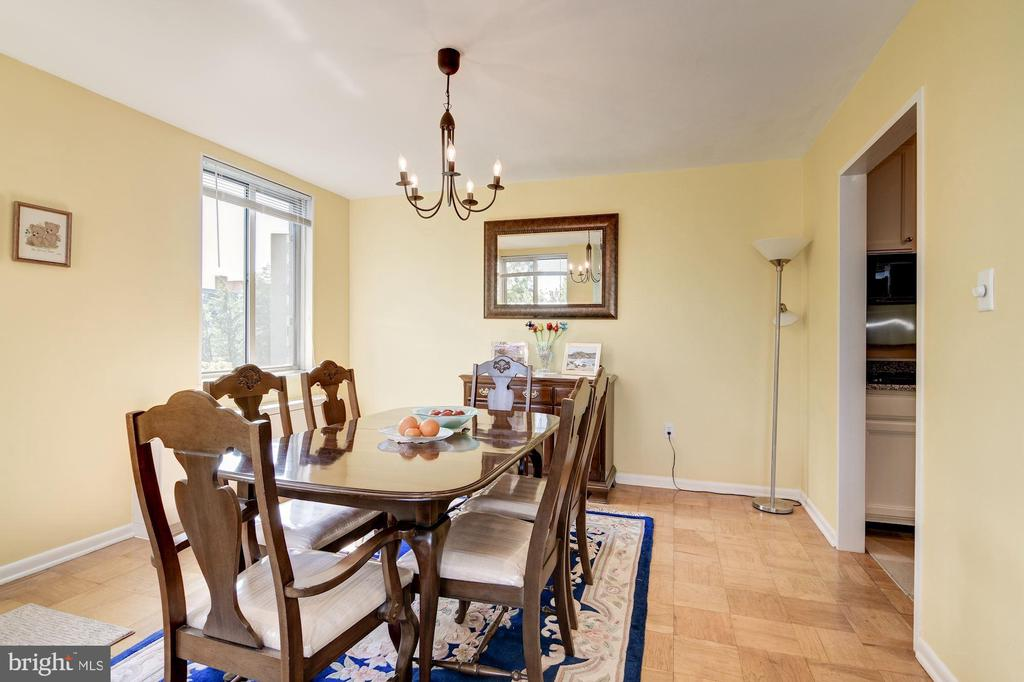 Dining room - 2939 VAN NESS ST NW #1248, WASHINGTON