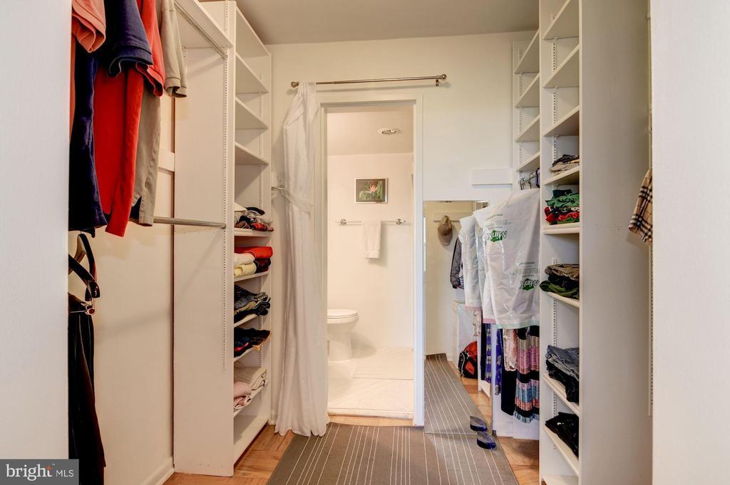 Master Closet - 2939 VAN NESS ST NW #1248, WASHINGTON