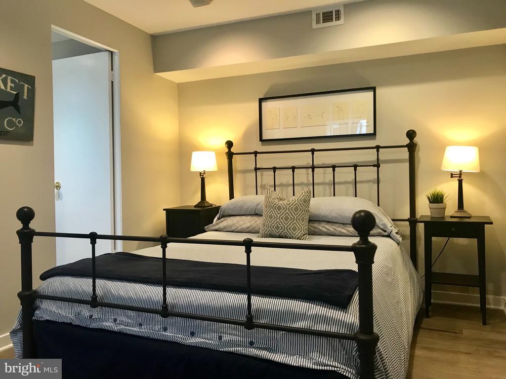 The lower level ensuite bedroom. - 17 6TH ST SE, WASHINGTON