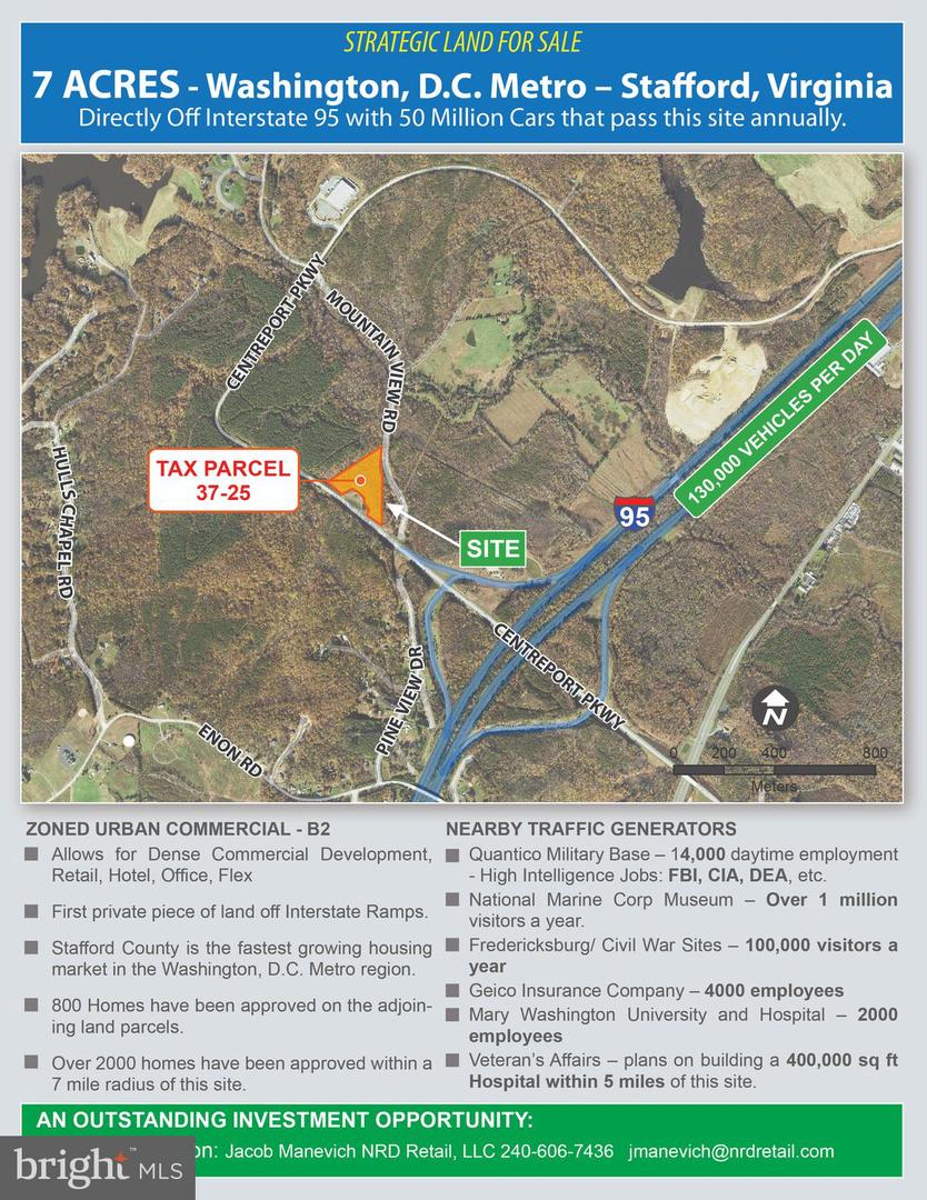 Land for Sale at Stafford, Virginia 22554 United States