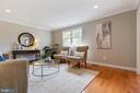 Lovely hardwoods on the main level - 5304 KAYWOOD CT, FAIRFAX
