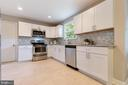 New shaker cabinets, granite and fixtures - 5304 KAYWOOD CT, FAIRFAX