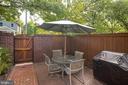 Private Terrace for Entertaining - 1952 N CLEVELAND ST #1, ARLINGTON
