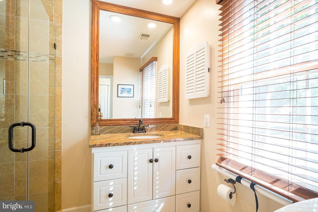 Renovated En-Suite Master Bathroom - 1952 N CLEVELAND ST #1, ARLINGTON