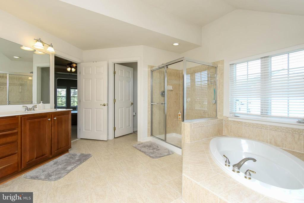 SEPARATE VANITIES, SOAKING TUB AND SEPARATE SHOWER - 5401 ADAMSTOWN COMMONS DR, ADAMSTOWN