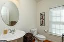 MAIN LEVEL POWDER ROOM - 5401 ADAMSTOWN COMMONS DR, ADAMSTOWN