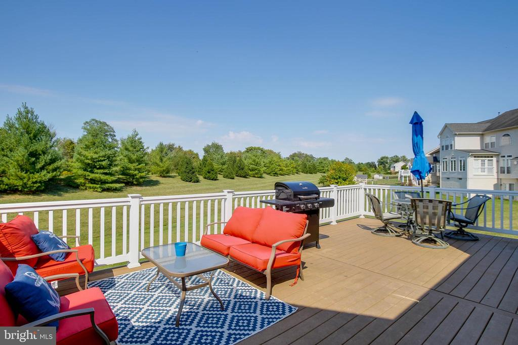 DECK  THAT BACKS TO TREES - 5401 ADAMSTOWN COMMONS DR, ADAMSTOWN
