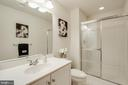 LOWER LEVEL FULL BATHROOM - 5401 ADAMSTOWN COMMONS DR, ADAMSTOWN