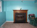 FIREPLACE IN FAMILY ROOM (RECENTLY INSPECTED) - 11504 GORDON RD, FREDERICKSBURG