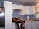 KITCHEN WITH NEW CABINETS - 11504 GORDON RD, FREDERICKSBURG