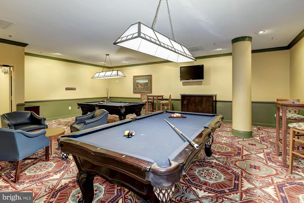 Grab your friends for a game of pool - 19365 CYPRESS RIDGE TER #418, LEESBURG