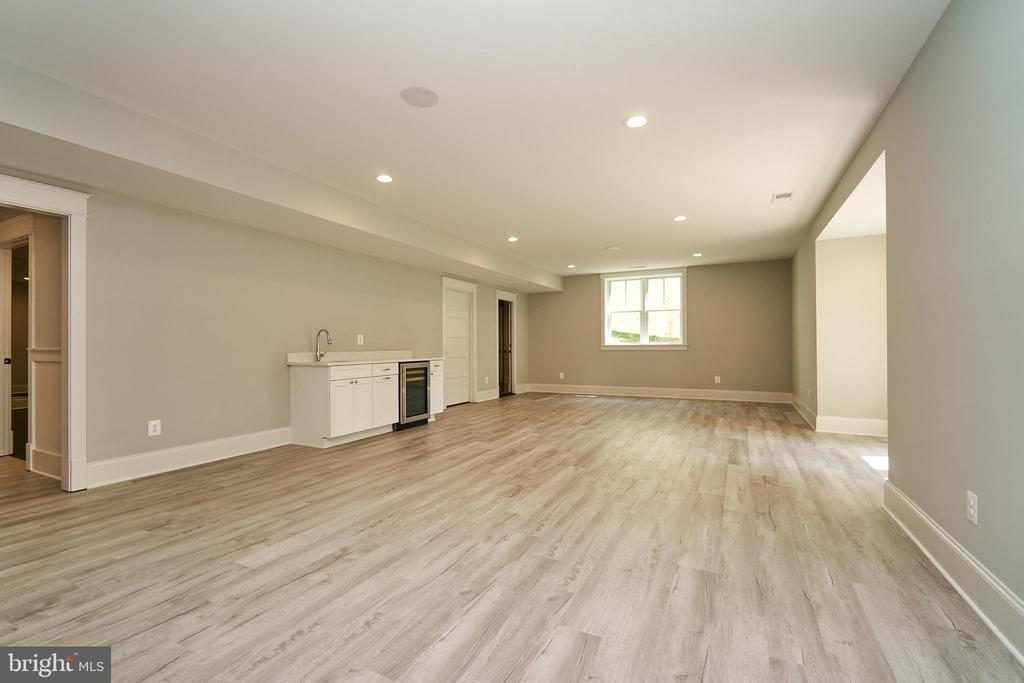 Basement Recreation Room. - 3616 N UPLAND ST, ARLINGTON