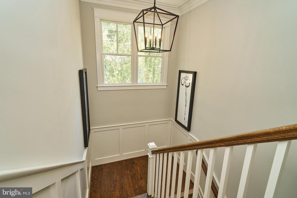 Stairs to 3rd floor loft. - 3616 N UPLAND ST, ARLINGTON