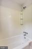 Bathroom 1 - Shower with Built-in Shelving - 2902 LANDOVER ST, ALEXANDRIA