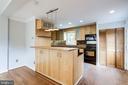 Updated Kitchen with Breakfast Bar - 2902 LANDOVER ST, ALEXANDRIA
