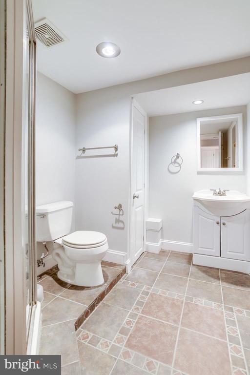 Bathroom 2 - Basement Full Bath - 2902 LANDOVER ST, ALEXANDRIA