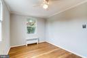 Bedroom 3 - Beautiful Hardwood Floors - 2902 LANDOVER ST, ALEXANDRIA