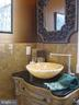 Powder room on the main level - 120 QUAIL LN, NEW MARKET