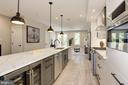 Sleek White Counters - 1715 KENYON ST NW #2, WASHINGTON
