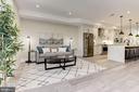 BONUS Family Room/Second Living Room off Kitchen - 1715 KENYON ST NW #2, WASHINGTON
