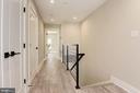 Upper Floor Hallway - 1715 KENYON ST NW #2, WASHINGTON