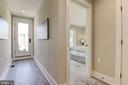 Upper Floor access to Top Deck - 1715 KENYON ST NW #2, WASHINGTON