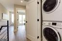 Upper-Floor Washer and Dryer - 1715 KENYON ST NW #2, WASHINGTON