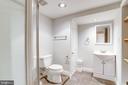 Bathroom 2  with updated fixtures - 2902 LANDOVER ST, ALEXANDRIA
