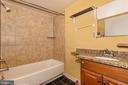 Lower Level Full Bathroom - 8 ORCHARD DR, GAITHERSBURG