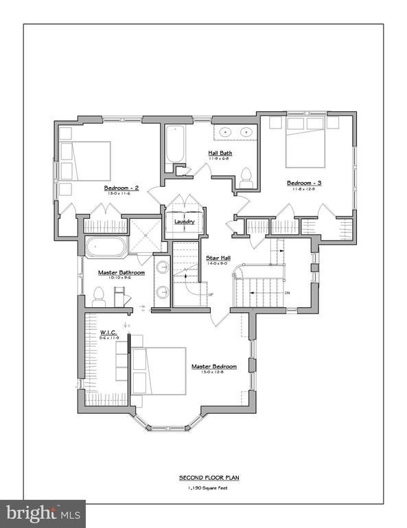 Upper level floor plan - 3601 VAN NESS ST NW, WASHINGTON