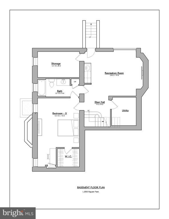 Basement level floor plan - 3601 VAN NESS ST NW, WASHINGTON