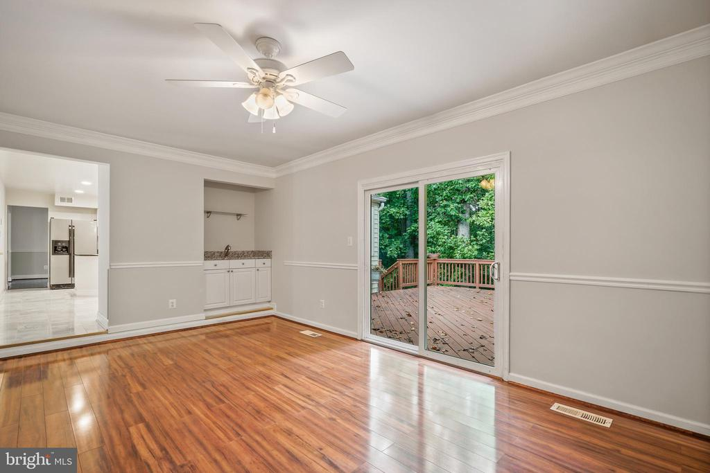 Rec Room with Wet Bar - 9616 STAYSAIL CT, BURKE