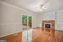 Rec Room with Built in Shelves - 9616 STAYSAIL CT, BURKE